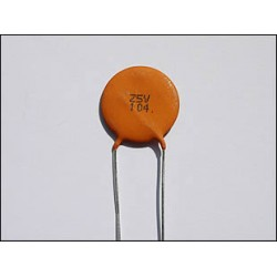 Ceramic-Disc 100 nF Capacitor
