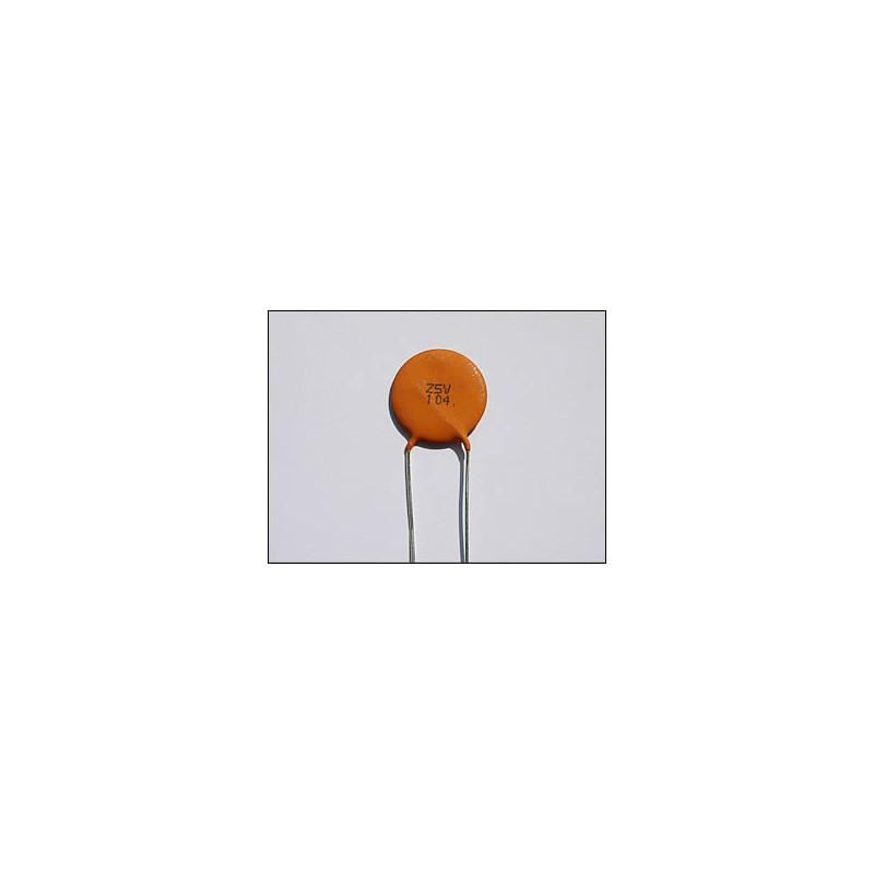 Ceramic-Disc 100 nF Capacitor